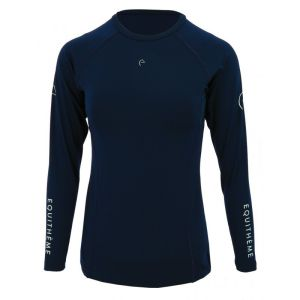 EQUITHÈME Langarm-Shirt Sponsor  Damen