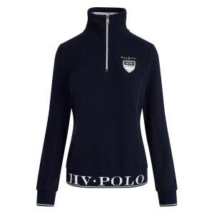 HV Polo Sweater mit halbem Reißverschluss Crest