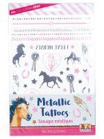 Metallic Tattoos PFERDEFREUNDE