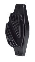 Kerbl Breitbandisolator schwarz 40mm 10Stk.