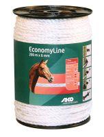 Kerbl Seil EconomyLine, 200m, 6mm, weiß