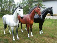 Deko-Pferd Kunststoff - Warmblut-
