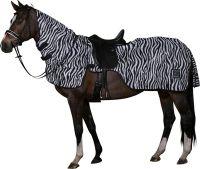HorseGuard Ausreitdecke Zebra m. Halsteil