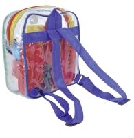 Putzrucksack für Kinder, mit Inhalt
