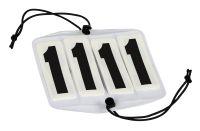 Turniernummern 4-stellig paarweise