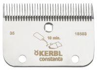 Kerbl AR2 Schermesser-Set Pferdeschur 35/24 Z 3mm