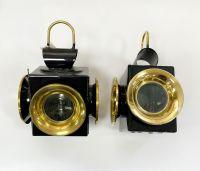 Kutschlampe Spezial Messing 11,5x27cm Paar