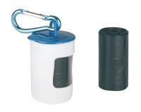 Beutelspender, Kunststoff inkl. 2 Rollen