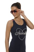 Spooks Big Heart Tank Top