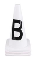 QHP Dressur Pylonen weiß 30cm