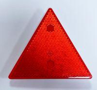 Reflektor, 3eckig, rot, mit 5mm Gewinde