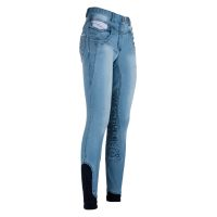 euro-Star Reithose Ladies Tess Denim -FullGrip-